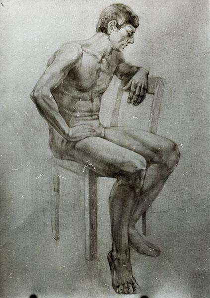 600 pixelakademische zeichnung silantev